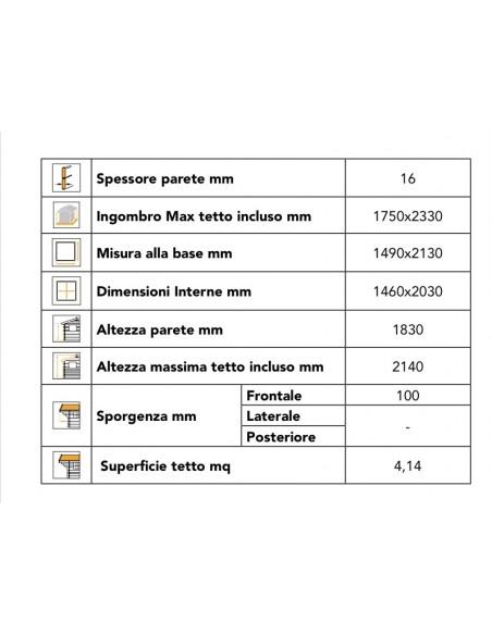 Casetta 150x215 A PANNELLI