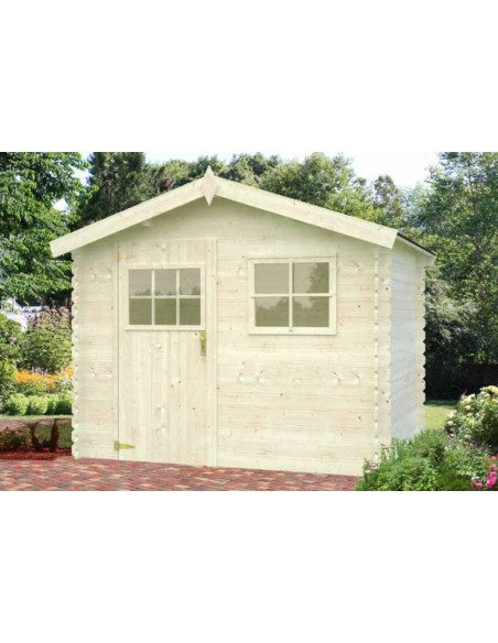 Casetta BRUGES 244x244 BLOCK HOUSE