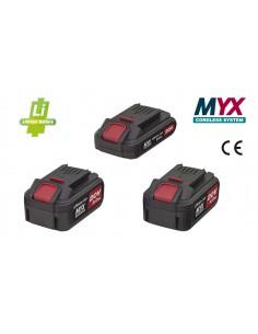 BATTERIE AL LITIO Linea MYX Cordless System