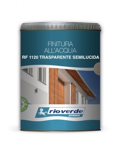 FINITURA CLASSICA TRASPARENTE SEMILUCIDA ALL'ACQUA