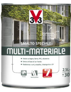 SMALTO MULTI-MATERIALE 4 IN 1 NERO RAL 9005