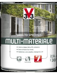 SMALTO MULTI-MATERIALE 4 IN 1 ALLUMINIO METALLIZATO