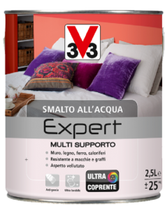SMALTO MULTI-SUPPORTO EXPERT BIANCO SATINATO