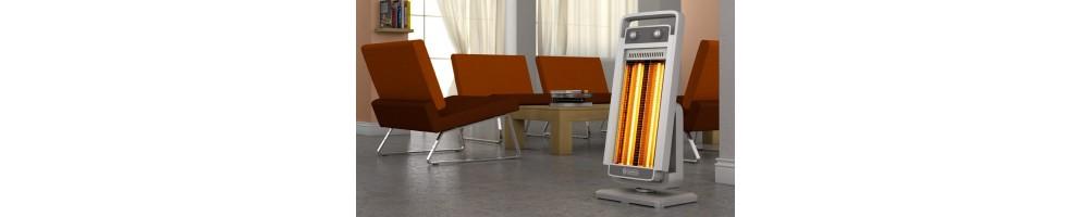 stufe elettriche, ad infrarossi