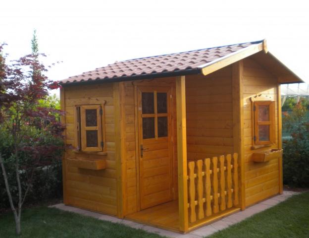 Casetta in legno a pannelli N 04-02